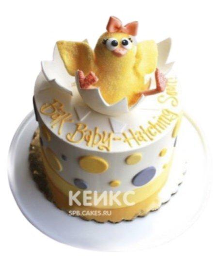 Торт цыпленок в скорлупе