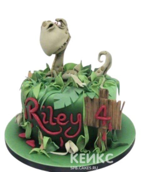 Торт Динозавр 4