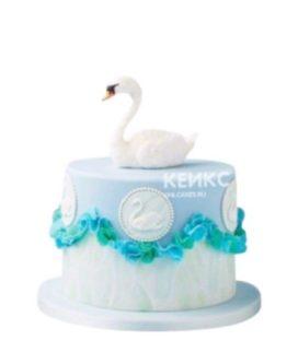 Торт Лебеди