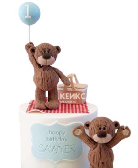 Торт с Медвежатами на пикнике