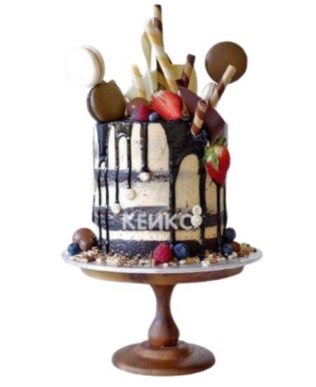 Торт с ягодами 4