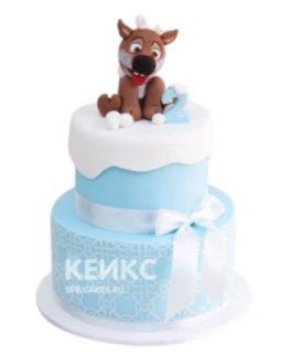Торт Собачка 1