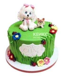Торт Собачка 6