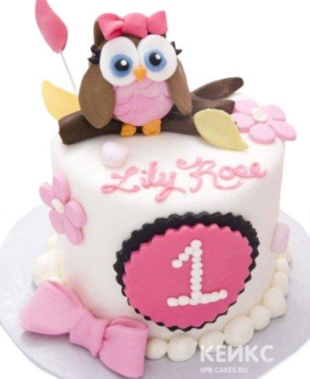 Торт Сова 3