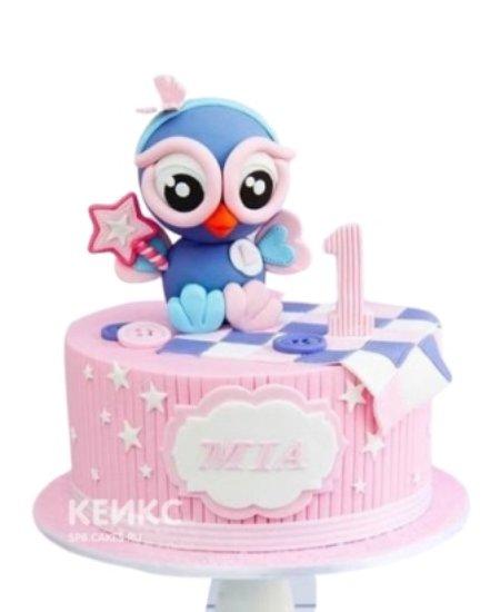 Торт Сова на день рождения