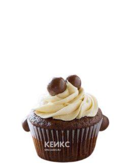 Оригинальные шоколадные капкейки для мужа