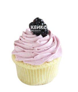 Ягодные капкейки с розовым кремом