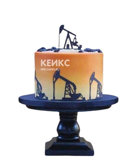 Торт для нефтяника