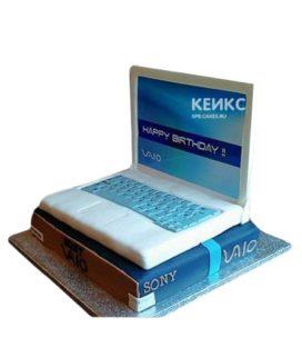 Торт ноутбук на день рождения мальчику