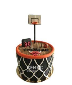 Торт баскетбол 9