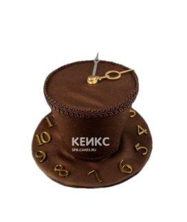 Торт часы в виде цилиндра