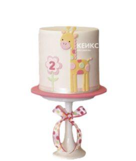 Торт девочке на 2 года 2