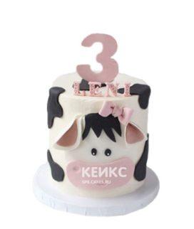 Торт девочке на 3 года 4