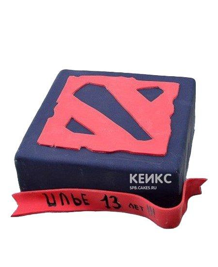 №109137 — «Торт Дота2»: заказать по выгодной цене в Санкт-Петербурге