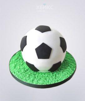 Торт Футбол в форме мяча