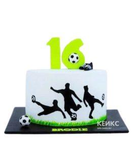 Торт футбол 6