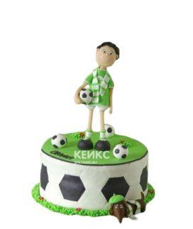Торт футбол 7