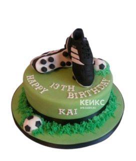 Торт футбол 8