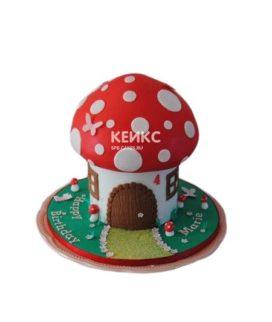 Торт гриб 4