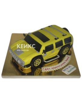 Торт хаммер желтый