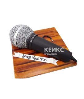 Музыкальный торт Микрофон