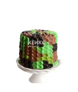 Камуфляжный торт на 23 февраля