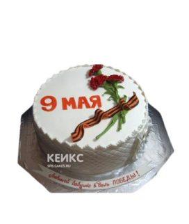 Праздничный торт на День Победы из мастики