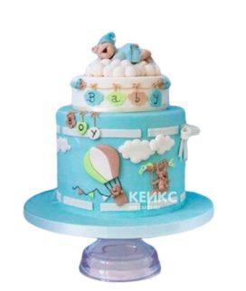 Торт на рождение мальчику 3
