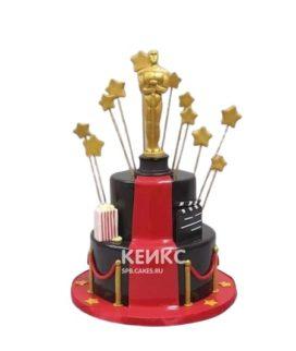 Торт для вечеринки или дня рождения в виде Оскара