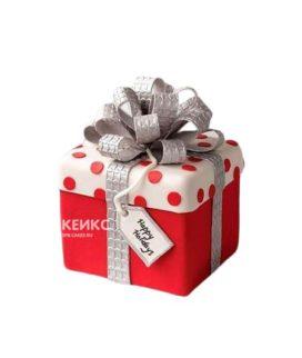 Торт подарок 9