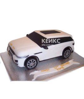 Оригинальный торт в виде машины Range Rover