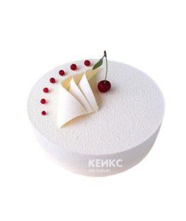 Велюровый торт с вишней
