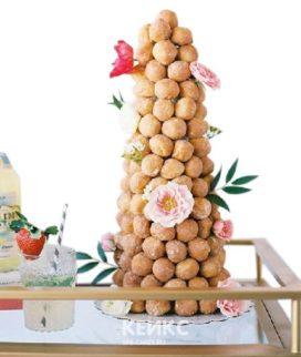 Торт свадебный крокембуш 2