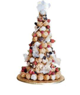 Торт свадебный крокембуш 7