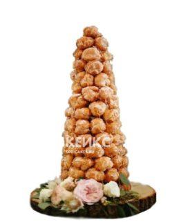 Торт свадебный крокембуш 3