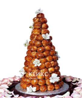 Торт свадебный крокембуш 4