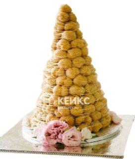 Торт свадебный крокембуш 5