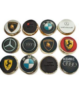 Капкейки машина с разными марками