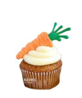 Морковные капкейки с фигурками