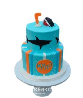 Торт акула 5