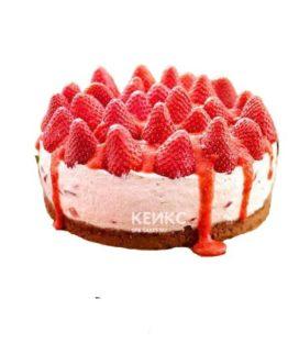 Торт с клубникой для беременных