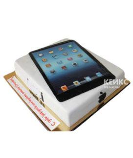 Торт в виде планшета Apple