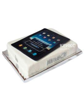 Торт в виде планшета с коробкой