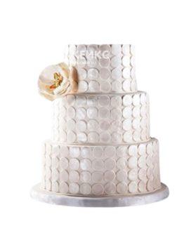 Торт свадебный недорогой 8