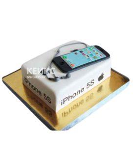 Торт в виде айфона 5 на день рождения