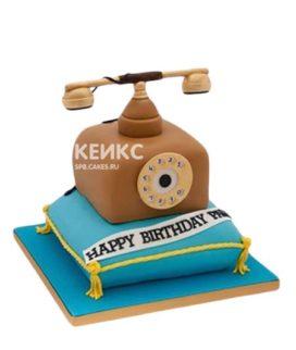 Торт Телефон ретро