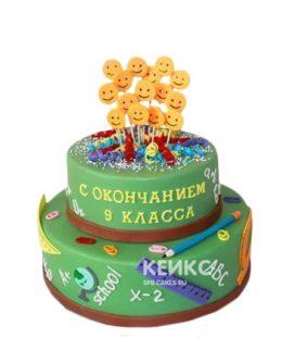 Торт на выпускной 9 класс