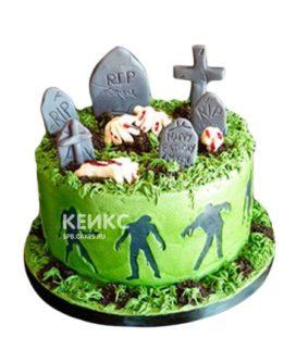 Торт зомби 5