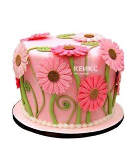 Торт Герберы