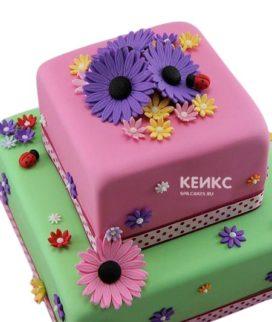 Торт Герберы 6